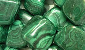 malaquita pedra de poder curativo